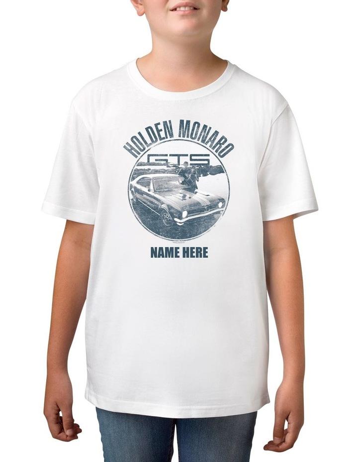 Boy's Holden Monaro Personalised Cotton T-Shirt image 1