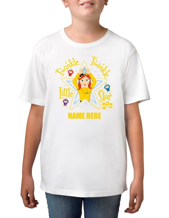 Boy's The Wiggles Twinkle Twinkle Little Star Personalised Cotton T-Shirt image 1