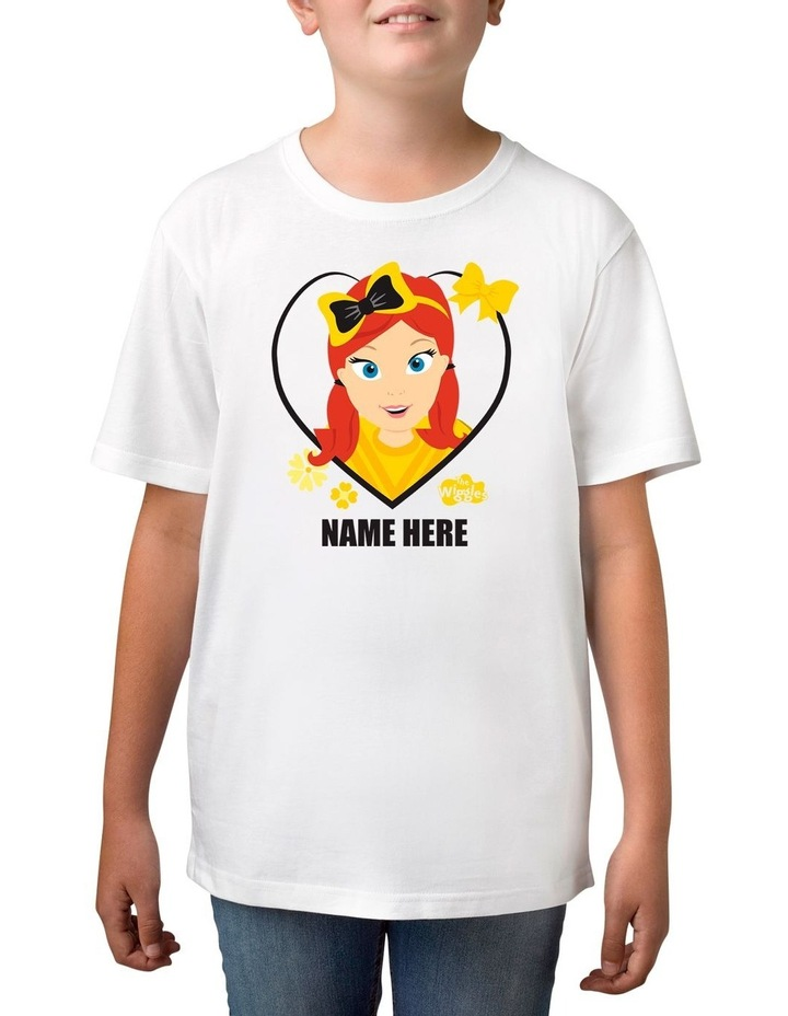 Boy's The Wiggles Love Emma Personalised Cotton T-Shirt image 1