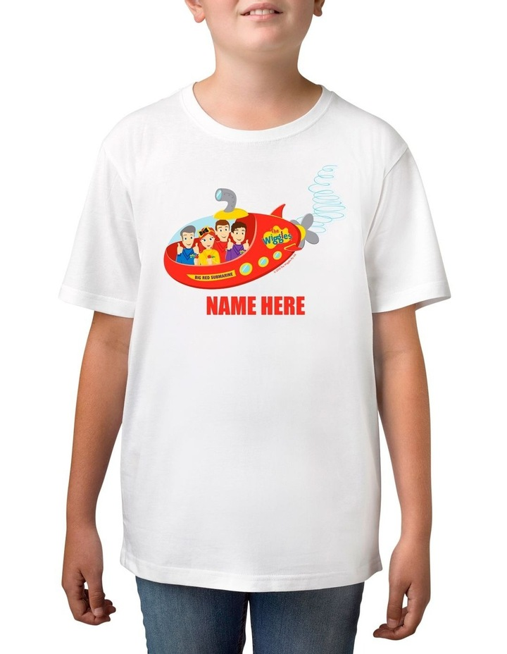 Boy's The Wiggles Big Red Submarine Personalised Cotton T-Shirt image 1