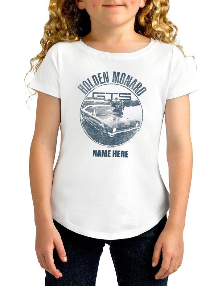 Girl's Holden Monaro Personalised Cotton T-Shirt image 1