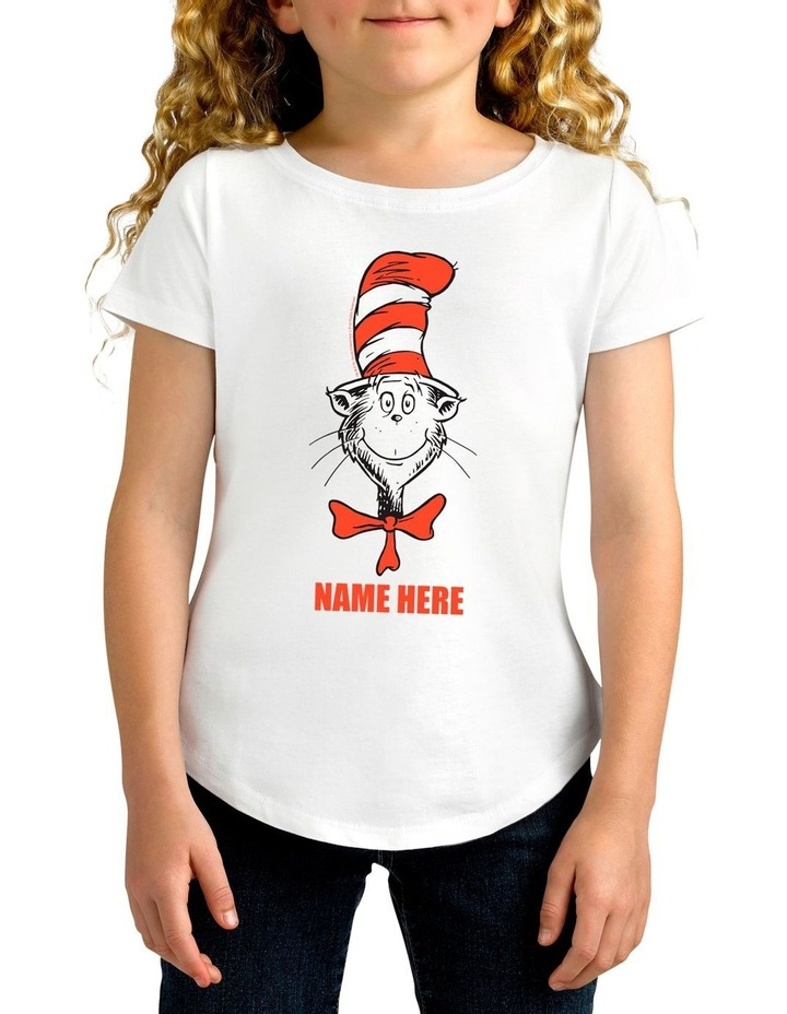 Girl's Dr.Seuss Personalised Cotton T-Shirt image 1