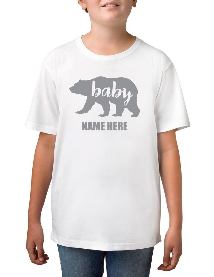 Personalised Boy's Baby Bear T-Shirt image 1