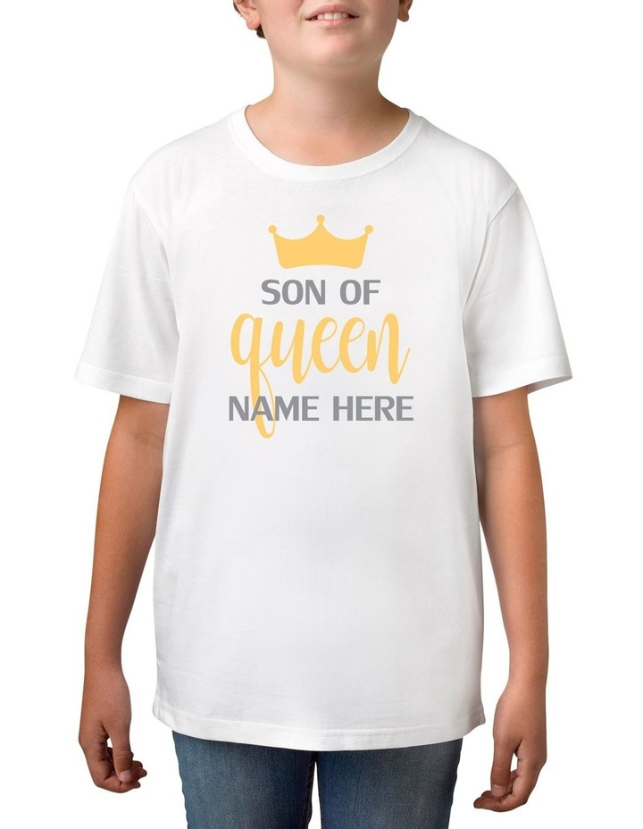 Personalised Boy's Son Of Queen T-Shirt image 1