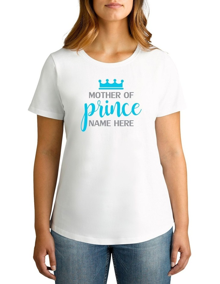 Personalised Women's Mother Of Prince T-Shirt image 1