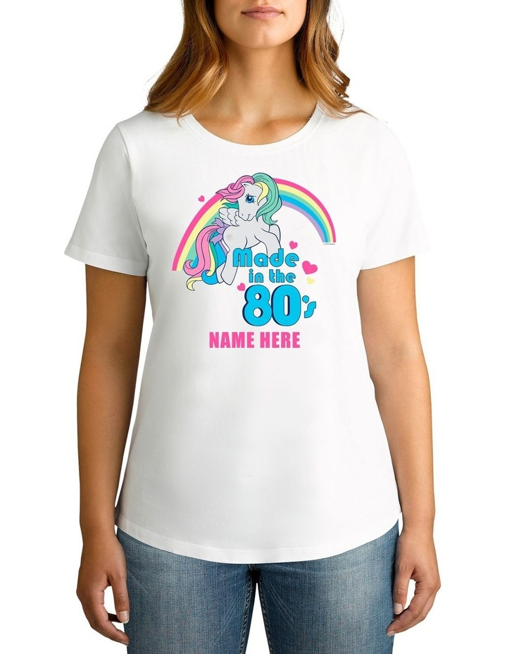 Personalised Women's My Little Pony Made In The 80's T-Shirt image 1