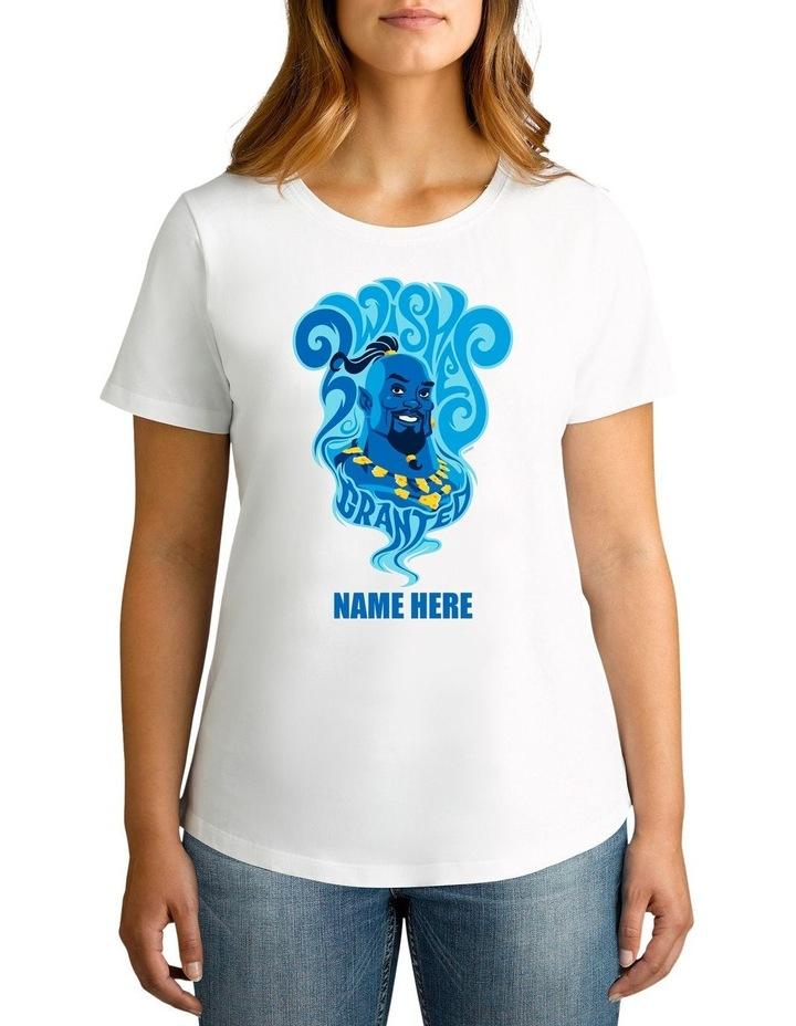 Women's Aladdin Genie Personalised Cotton T-Shirt image 1
