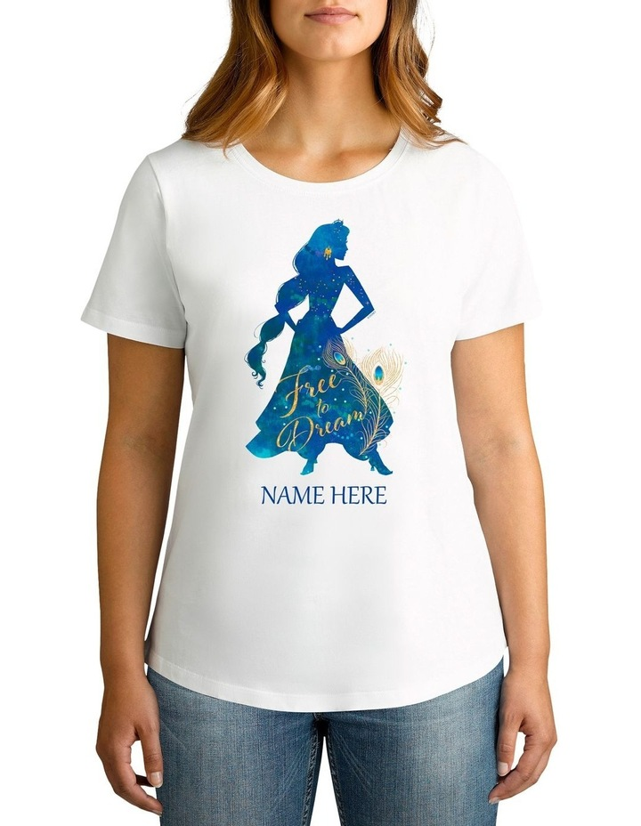 Women's Aladdin Jasmine Personalised Cotton T-Shirt image 1