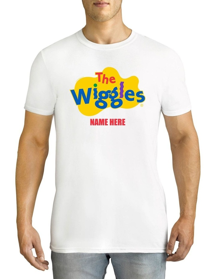 Men's The Wiggles Personalised Cotton T-Shirt image 1