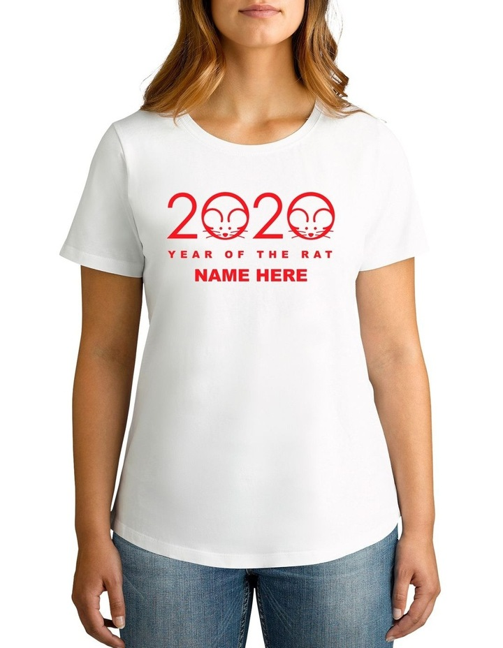 Women's CNY 2020 Personalised Cotton T-Shirt image 1