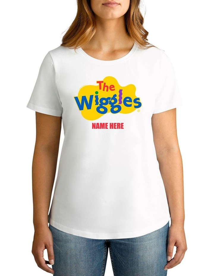 Women's The Wiggles Personalised Cotton T-Shirt image 1