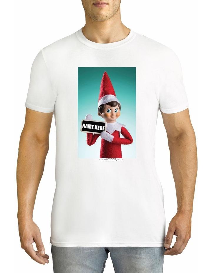 Men's Elf on the Shelf Cotton Tee image 1