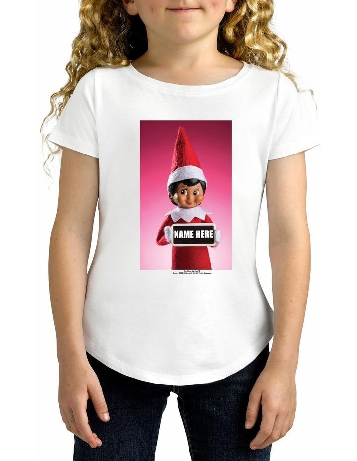 Girl's Elf on the Shelf Cotton Tee image 1