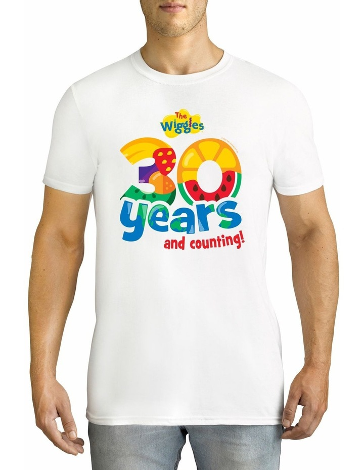 Men's The Wiggles 30 years Personalised Cotton T-Shirt image 1