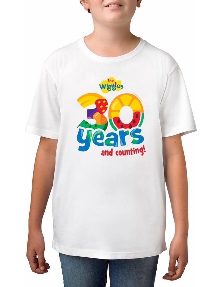 Boy's The Wiggles 30 years Personalised Cotton T-Shirt image 1