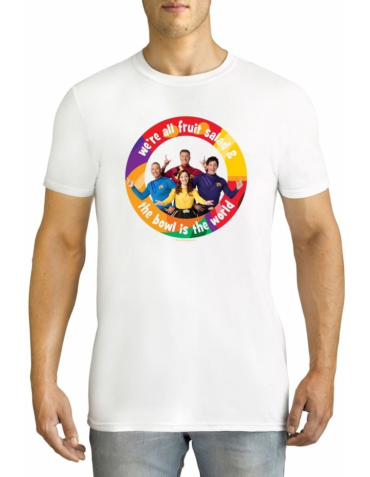 Men's The Wiggles World Cotton T-Shirt image 1