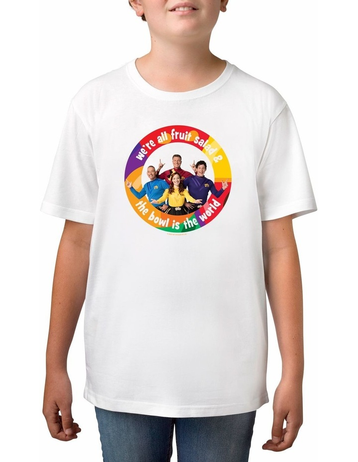 Boy's The Wiggles World Personalised Cotton T-Shirt image 1