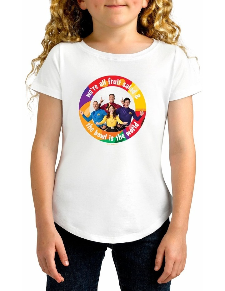 Girl's The Wiggles World Cotton T-Shirt image 1