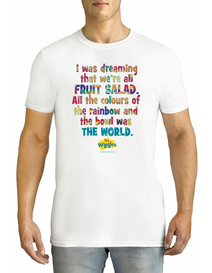 Men's The Wiggles Dreaming Personalised Cotton T-Shirt image 1