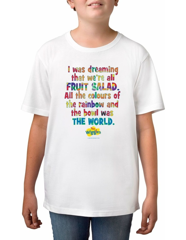 Boy's The Wiggles Dreaming Personalised Cotton T-Shirt image 1