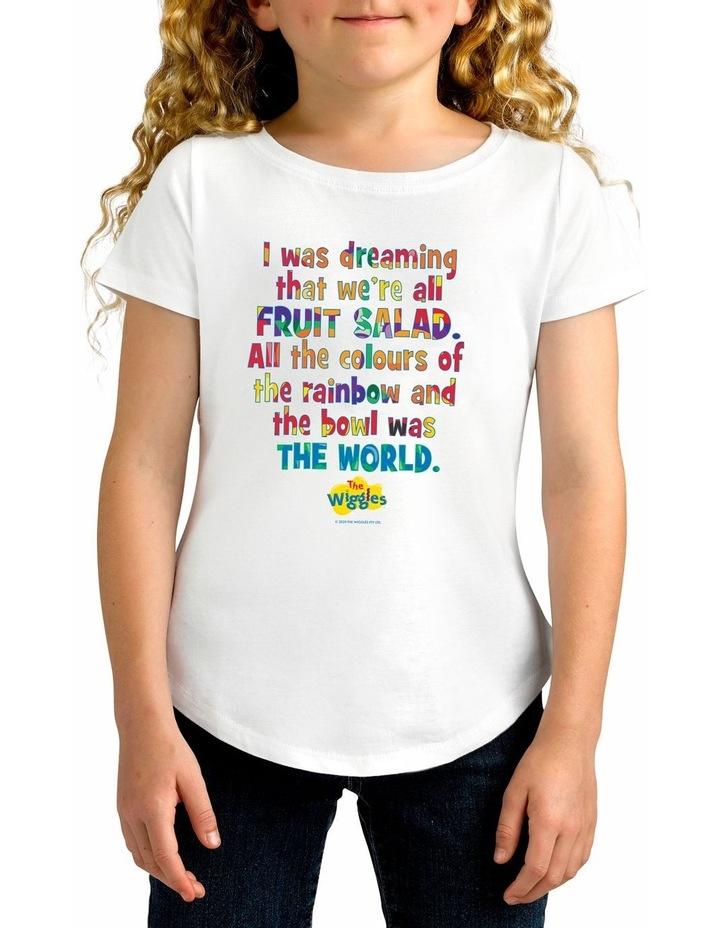Girl's The Wiggles Dreaming Personalised Cotton T-Shirt image 1