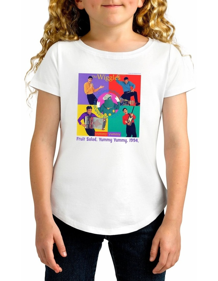 Girl's The Wiggles 1994 Personalised Cotton T-Shirt image 1