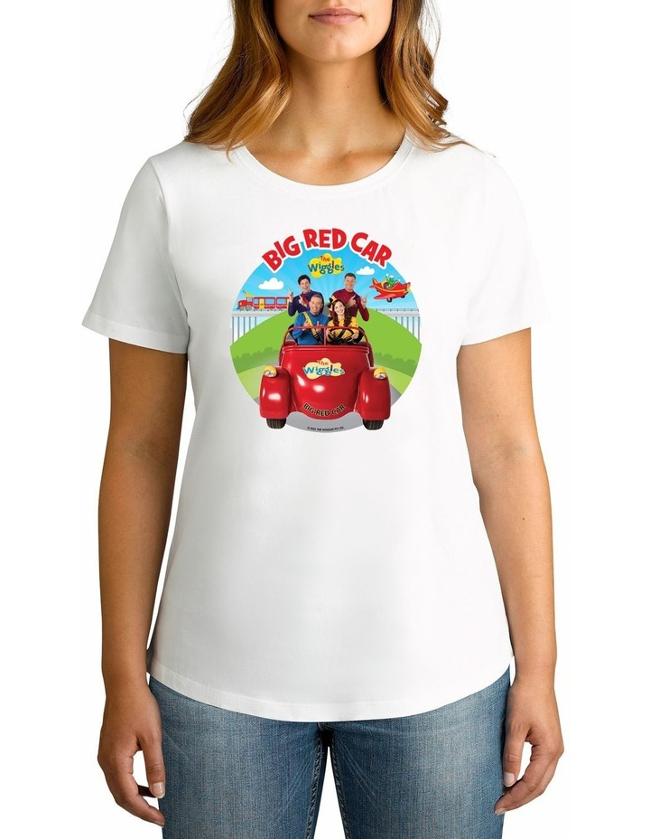 Women's The Wiggles Big Red Car 2021 Personalised Cotton T-Shirt image 1