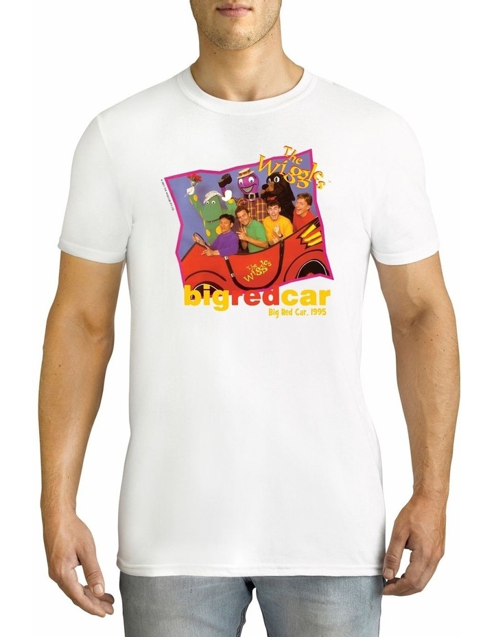 Men's The Wiggles Retro 1995 Personalised Cotton T-Shirt image 1