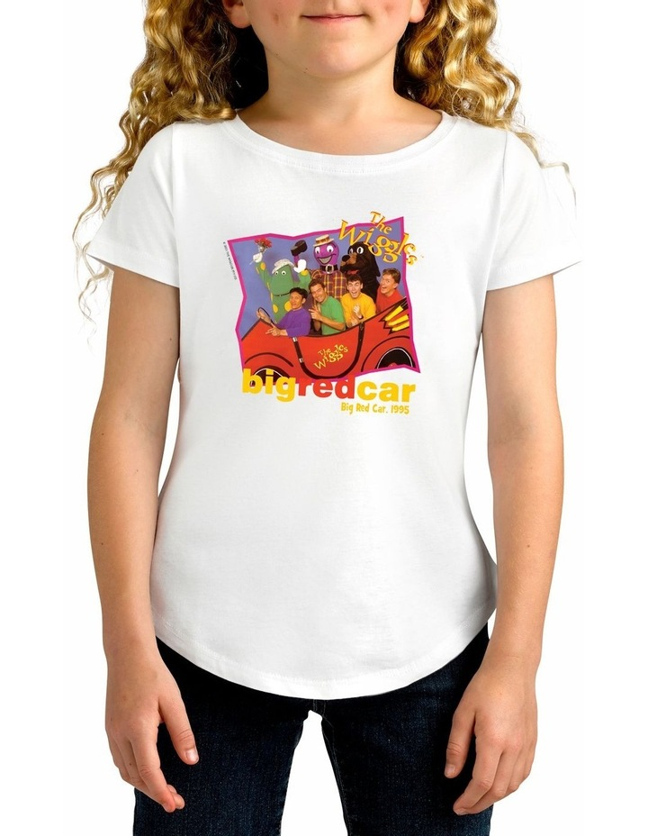 Girl's The Wiggles Retro 1995 Personalised Cotton T-Shirt image 1
