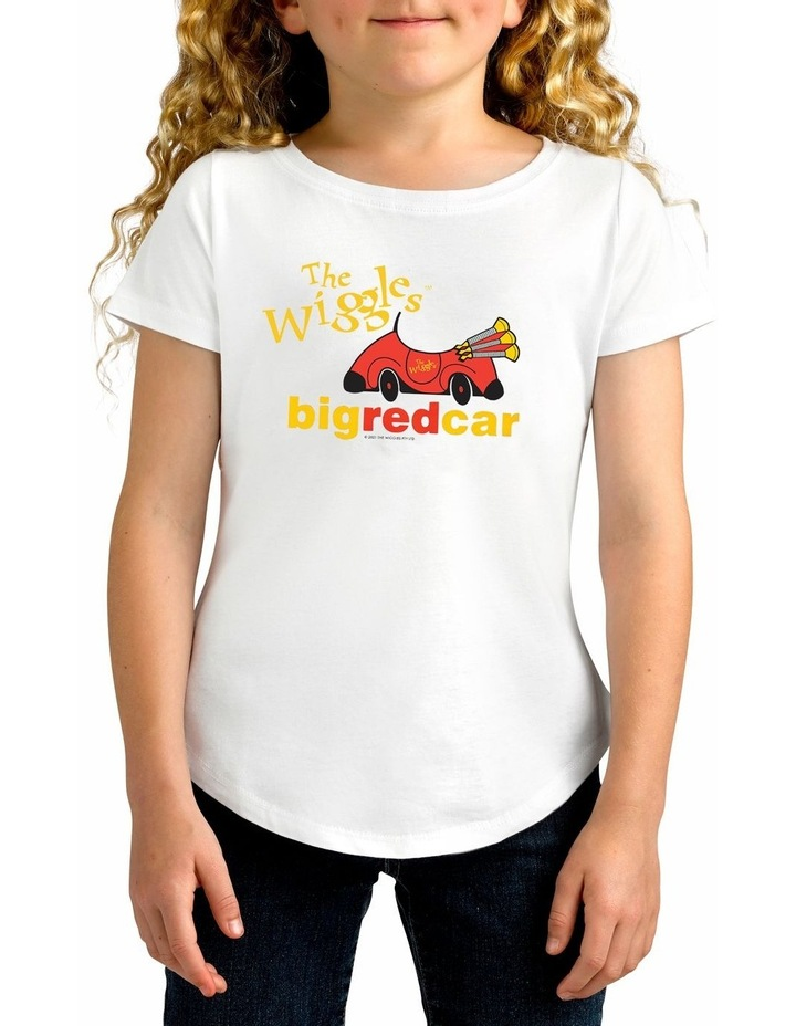 Girl's The Wiggles Beep Beep Personalised Cotton T-Shirt image 1