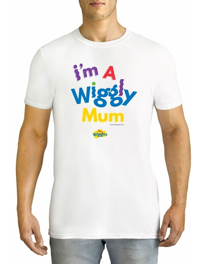 Twidla Men's The Wiggles Wiggly Mum Cotton T-Shirt image 1