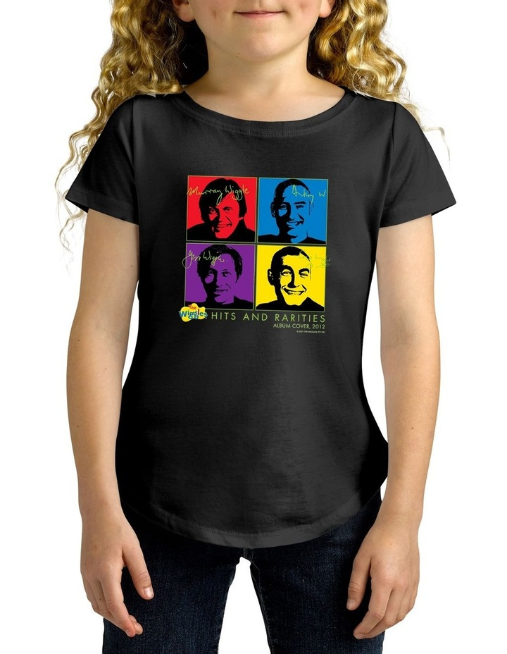 Twidla Girl's The Wiggles Hits & Rarities Personalised Cotton T-Shirt image 1