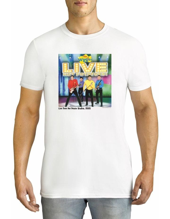 Twidla Men's The Wiggles Hot Potatoes! Cotton T-Shirt image 1