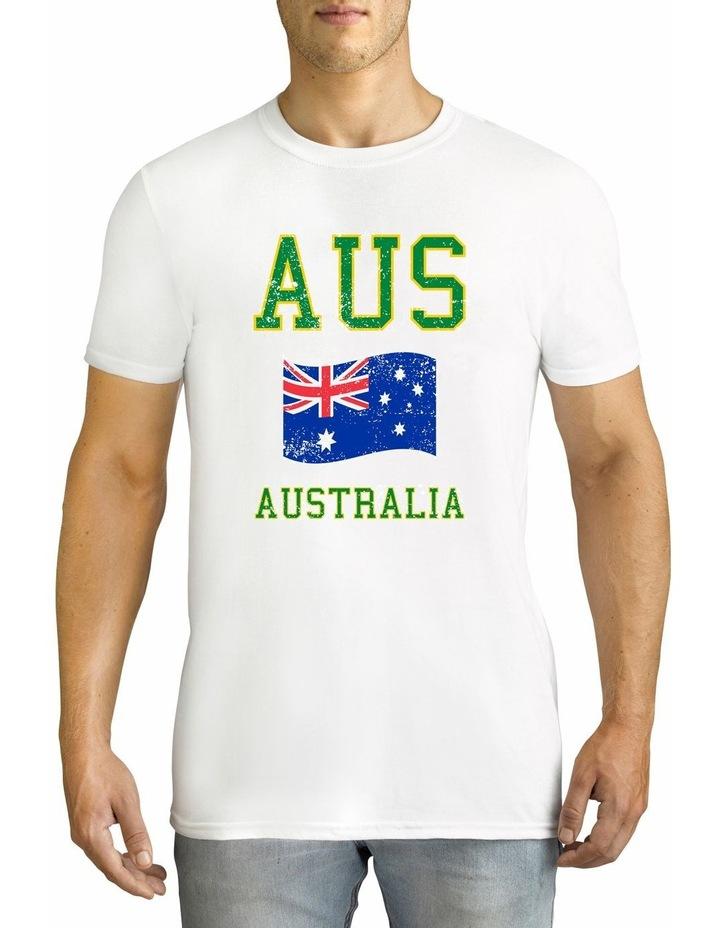 Twidla Men's Collegiate Australia Cotton T-Shirt image 1