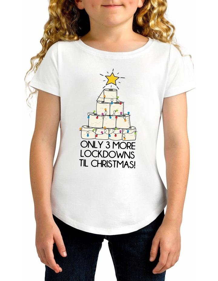 Twidla Girl's Covid Lockdown Cotton T-Shirt image 1