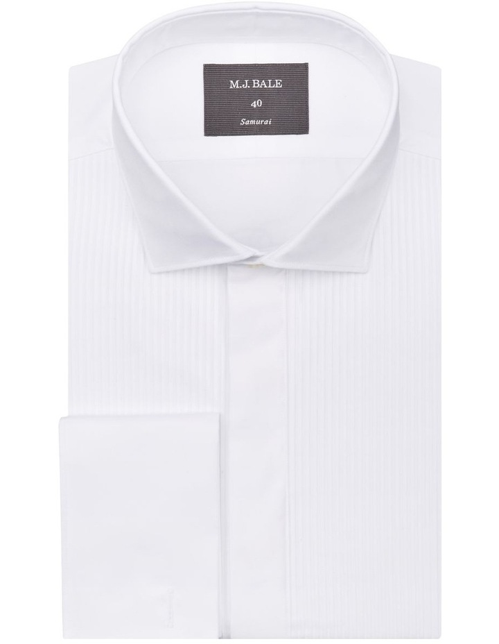 Ramini White Tuxedo Shirt image 1