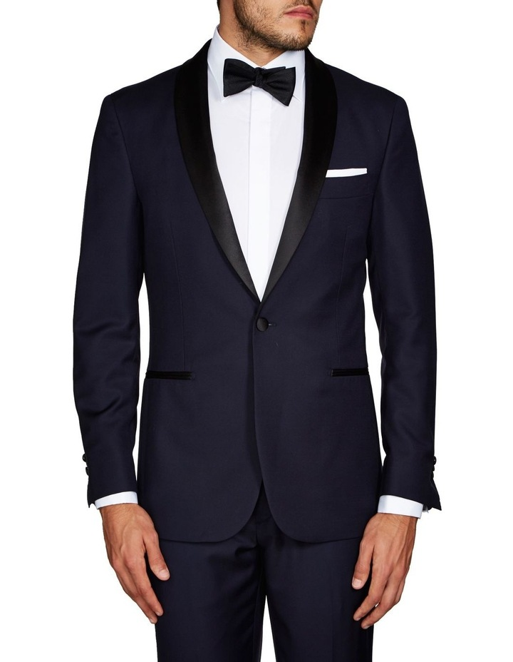 Saunders Navy Tuxedo Jacket image 1