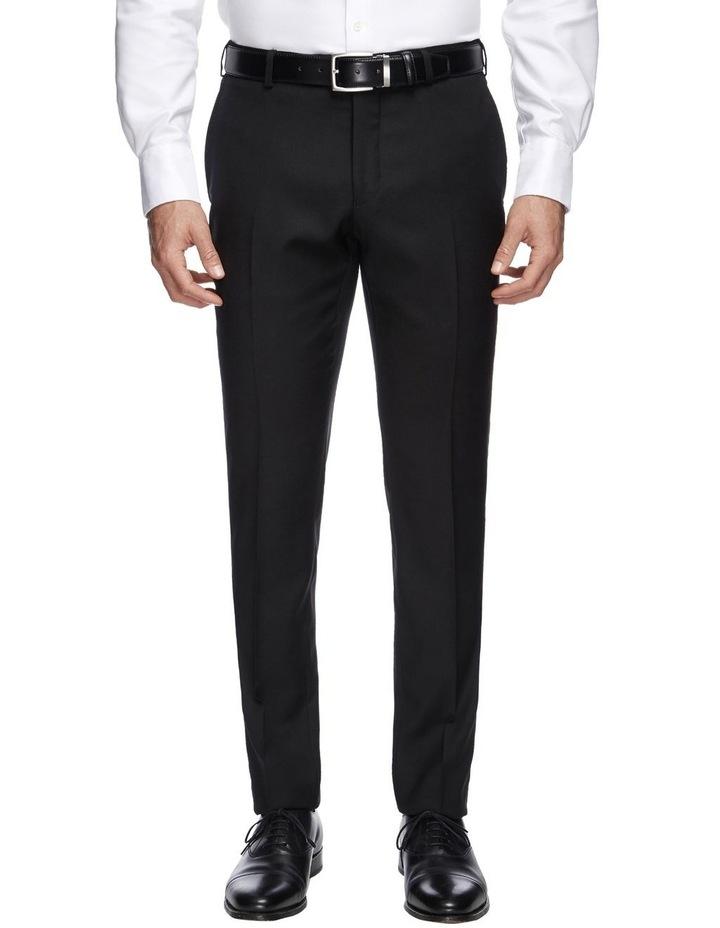 Saunders Black Slim Trouser image 1