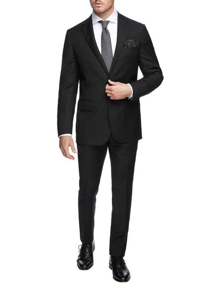 Saunders Black Slim Trouser image 3