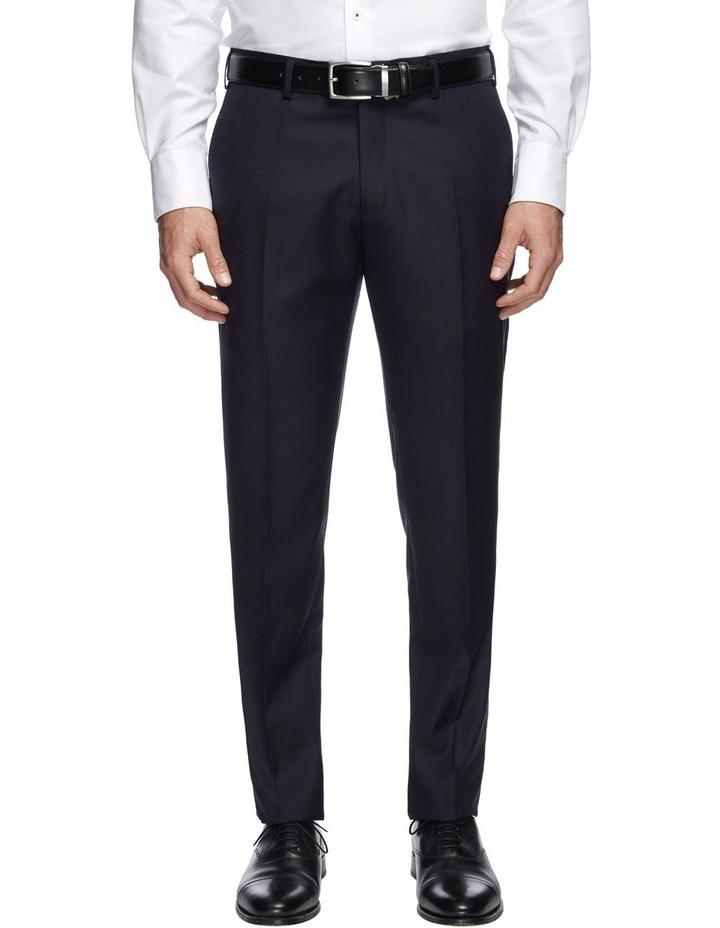 Saunders Navy Slim Trousers image 1