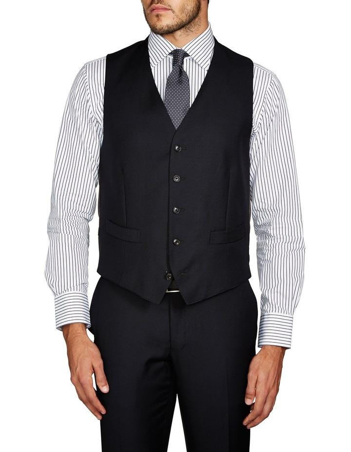 Saunders Black Waistcoat image 1