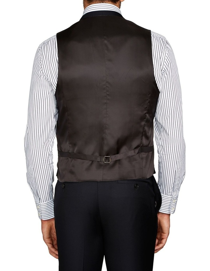 Saunders Black Waistcoat image 2