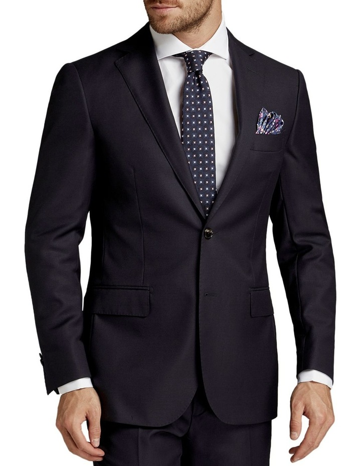 Saunders Navy Slim Fit Jacket image 1