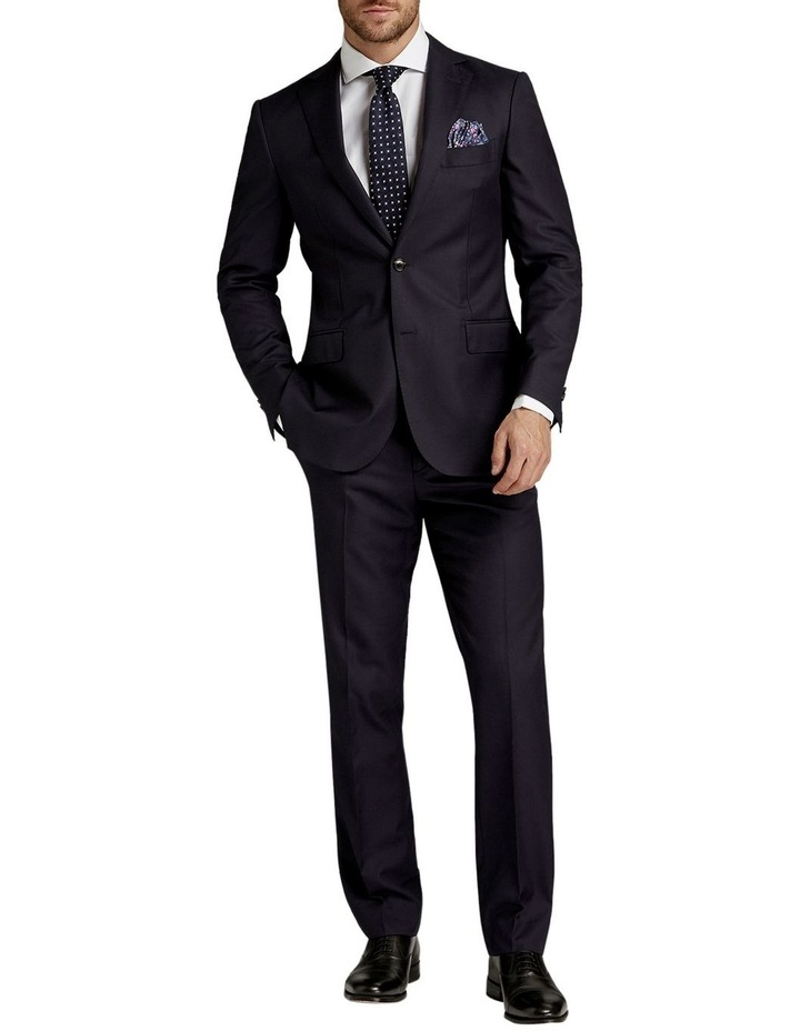 Saunders Navy Slim Fit Jacket image 3