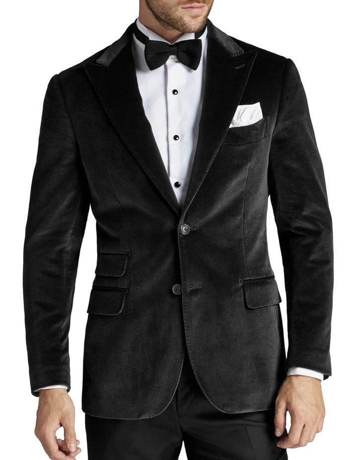Giacomo Velvet Jacket Grey image 1