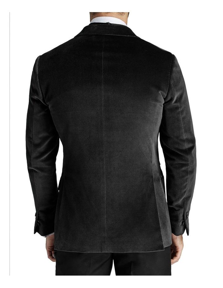 Giacomo Velvet Jacket Grey image 2