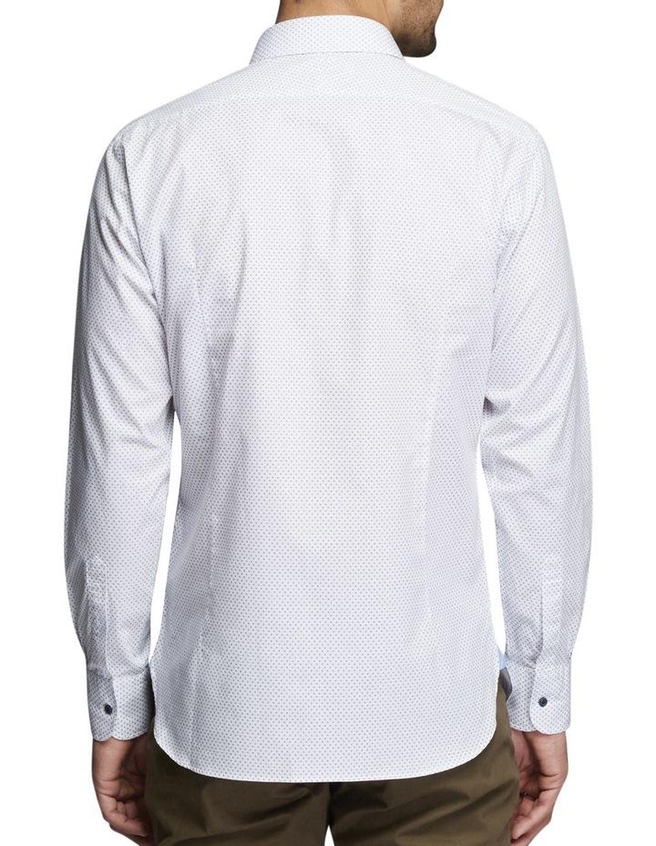 Ballen Printed Shirt White/Blue image 2
