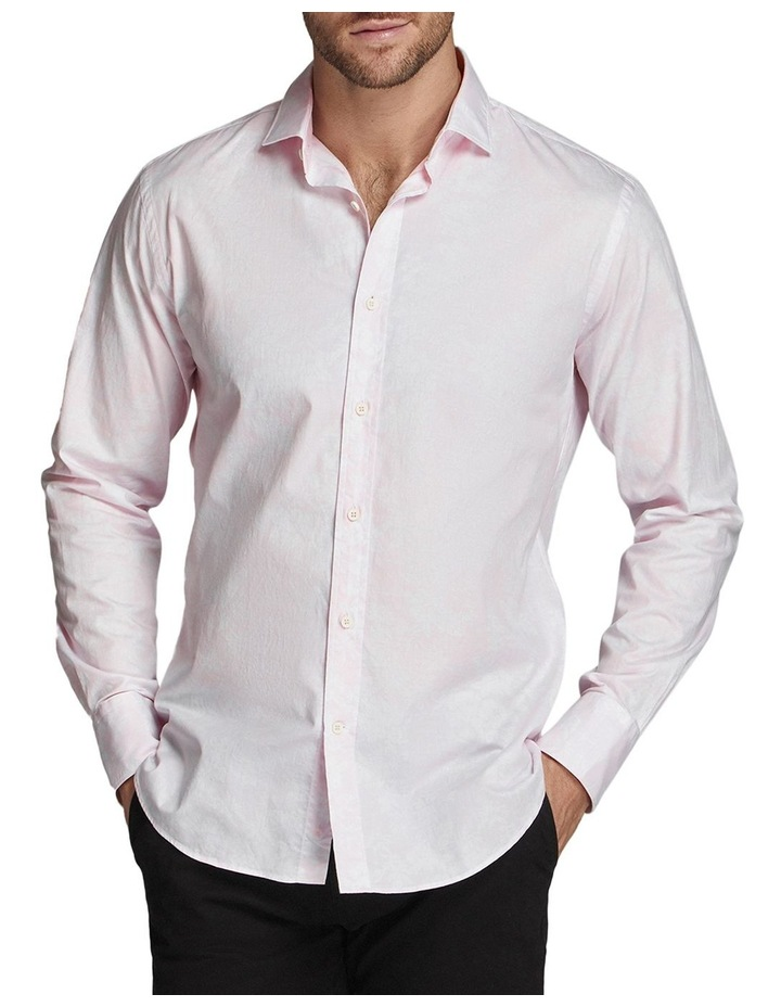 Consell Printed Shirt Pink/White image 1