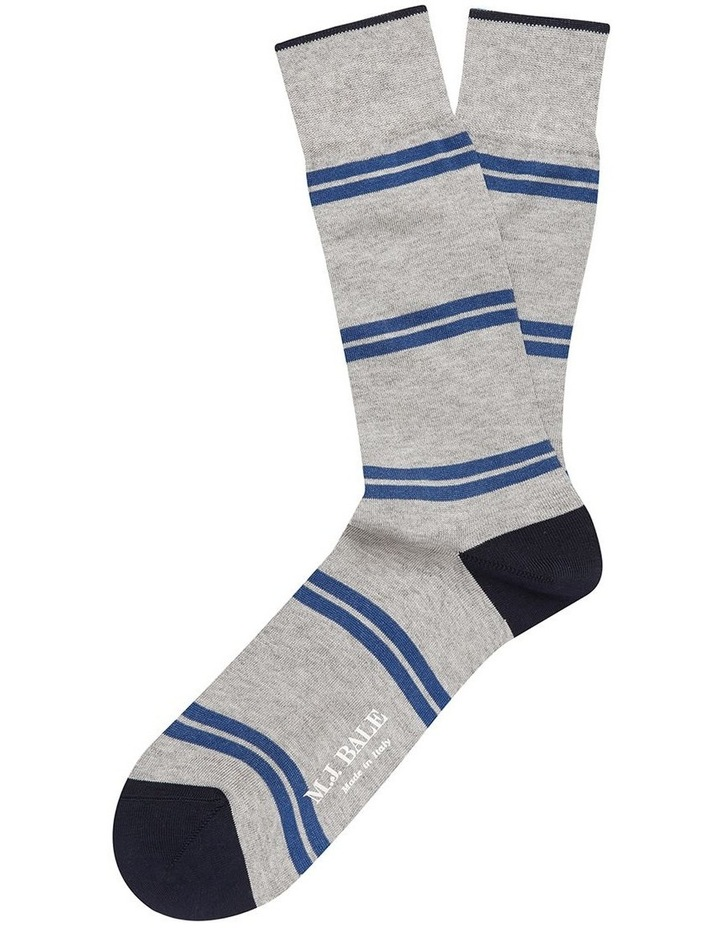 Ronco Sock Grey/Blue image 1