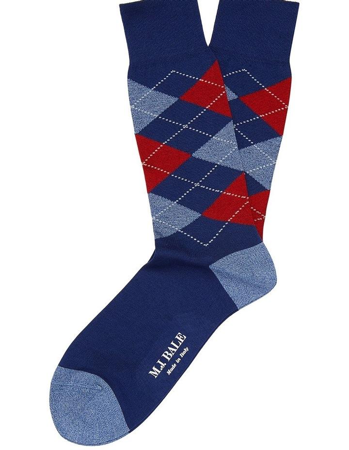 Vesalla Argyle Sock image 1
